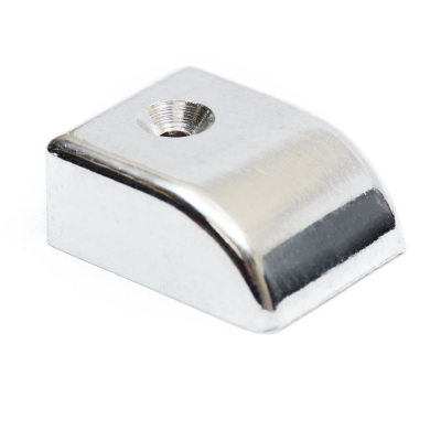 FITCH2685 Track Slide End Cap Chrome