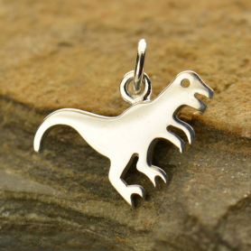 A1531   -SV-CHRM Sterling Silver Dinosaur Charm - T-Rex