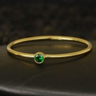 Gold Filled Ring - Birthstone Ring - May