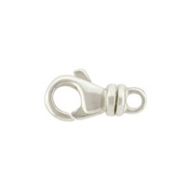 UC8     -SV-CLSP Sterling Silver Lobster Swivel Clasp -14mm