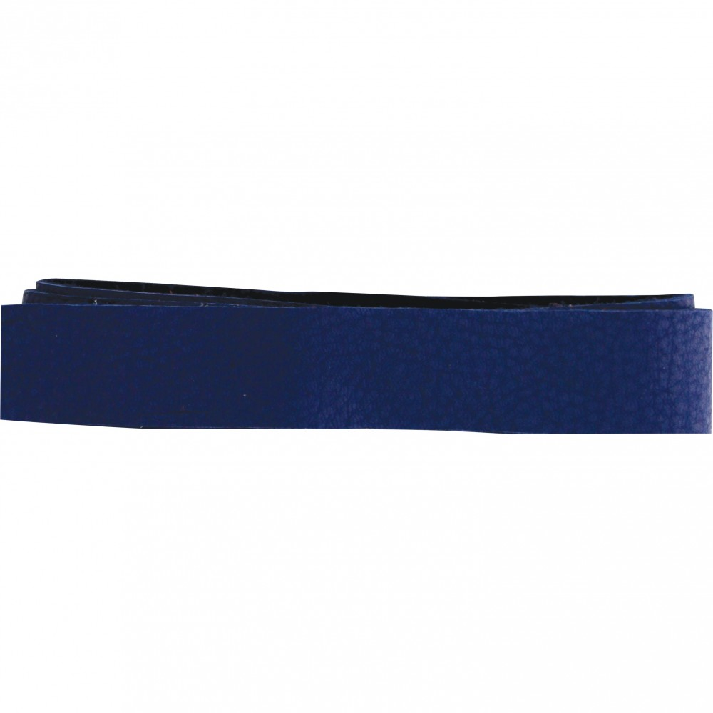 Leather Cord - Cobalt Wide 2cm Deerhide DISCONTINUED