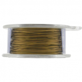 UVW419  -BM-ABZ-SPLY Copper Wire with Bronze Color60 Ft of 24 Gauge DISCONTINUED