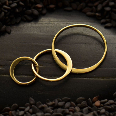 VNS2533 -BZ-LINK Bronze Three Circles of Life Link -37mm