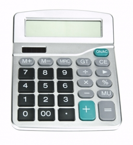20061CALP CALCULATOR 173 X 144 X 28 MM GREY AND BLACK W/ SPACE LOGO