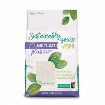13256 SUSTAINABLY YOURS Multi-Cat  Plus Litter 2/13lb