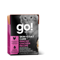 13582 GO! CAT SKIN & COAT CARE Minced Chicken 24/181g