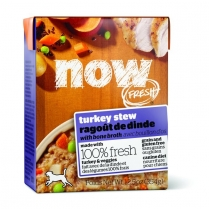 13721 NOW DOG FRESH Grain Free Turkey Stew Tetra Pack 12/354g