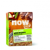 13751 NOW CAT GF Pork Pate Tetra Pack 24/182g