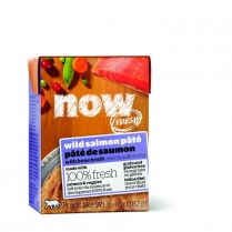 13752 NOW CAT GF Salmon Pate Tetra Pack 24/182g