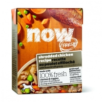 13960 NOW FRESH Dog Shredded Chicken Tetra Pack 12/354g