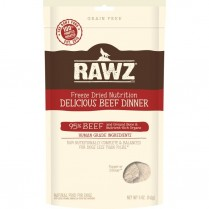 14352 RAWZ FD Beef Dinner Dog 5oz/142g (MDISC)