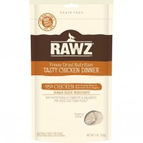 14355 RAWZ FD Chicken Dinner Dog 5oz/142g (MDISC)