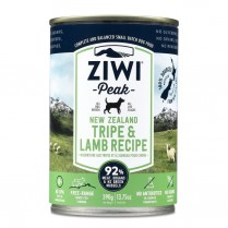 15382 ZIWI Peak Dog Tripe & Lamb 12/390g