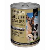 16910 CANIDAE All Life Stages Dog Multi-Protein 12/13oz