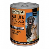 16912 CANIDAE All Life Stages Dog Lamb 12/13oz