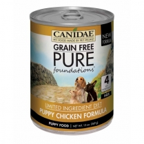 16930 CANIDAE PURE Foundations Puppy LID Chicken 12/13oz