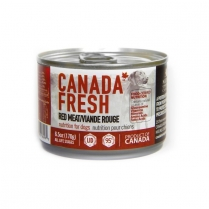 21752 Canada Fresh Dog LID Red Meat 24/170g