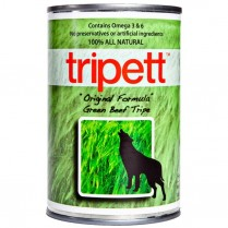 21802 TRIPETT Dog Green Beef Tripe 12 /369g