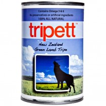 21806 TRIPETT Dog New Zealand Green Lamb Tripe 12 /369g