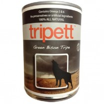 21816 TRIPETT Dog Green Bison Tripe 12/369g