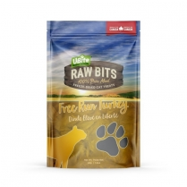 25833 UBITE RAW BITS Turkey Breast Cat Treats 90g
