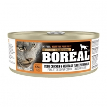32191 BOREAL Cat Cobb Chicken & Heritage Turkey Formula 24/156g