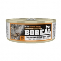 32210 BOREAL Cat Cobb Chicken & Heritage Turkey 24/80g