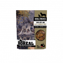 32238 Boreal Dog 100% Air Dried Beef Lung Small Bites 45g