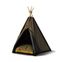 34586 WOOF Concept  Premium Pet Teepee Sand Medium