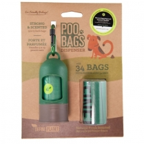 34646 DefinePlanet POO BAGS  Leash Dispenser with 34 bags