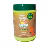34652 DefinePlanet BooWipes Citrus bamboowipes 50ct