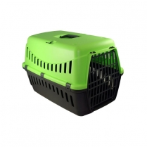 35136 BERGAMO GIPSY small metal door Pet carrier - Green