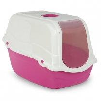 35171 BERGAMO Romeo Litter Covered Pan w/Filter Fushia