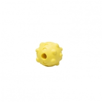 35238 BUDZ Dog Toy Rubber Foam Ball Yellow 2.5''