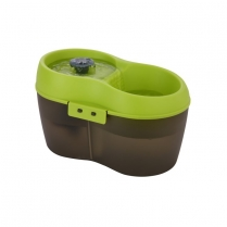 35266 H2O Drinking Fountain For Cat or Small Dog (2L) Green