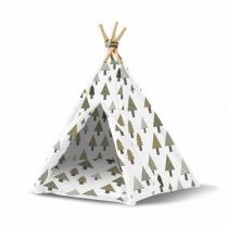 35628 WOOF Concept  Premium Pet Teepee Northwest Medium