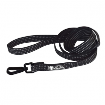 "35910 Hamilton 5/8""X6"" Reflective Nylon Lead Swivel Snap Black"