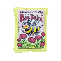 37110 Fuzzu Bloomin Kitty Bee Balm Seed Packet Cat Toy