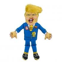 "37185 Fuzzu 17"" Presidential Parody Donald Dog Toy (MOS)"