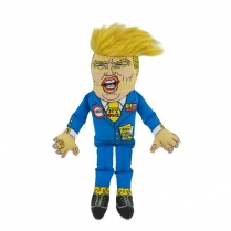 37186 Fuzzu Presidential Parody Donald Small Dog Toy