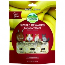 42384 OXBOW SR Banana Treats 28.4g