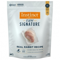 61124 INSTINCT Raw Signature Cat Rabbit Bites 567g