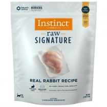 61125 INSTINCT Cat Raw Signature Rabbit Medallions 1.23Kg.