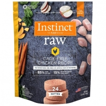 61146 INSTINCT Dog Raw Chicken Patties 2.72kg