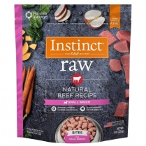 61152 INSTINCT Raw Dog Beef Small Breed Bites 227g