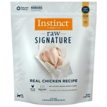 61176 INSTINCT Cat Raw Signature Chicken Medallions 1.2Kg