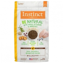 61826 INSTINCT Dog Be Natural Chicken & Brown Rice 2.04kg
