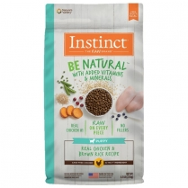 61834 INSTINCT Puppy Be Natural Real Chicken & Brown Rice 2kg