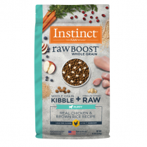 61841 INSTINCT Puppy Raw Boost WG Real Chicken & Brown Rice 2kg