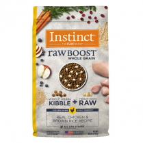 61842 INSTINCT Dog Raw Boost WG Chicken & Brown Rice 9.1kg